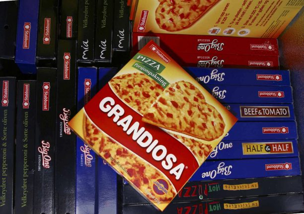Frozen pizza delivers as sales figures in Norway topped again