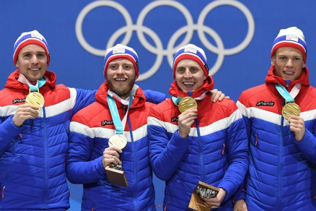 Norway deny Russians first Olympic gold in cross country