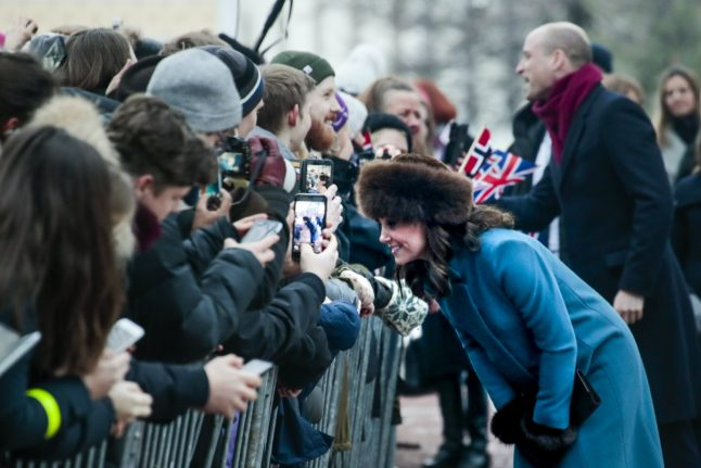 IN PICTURES: William and Kate visit Norway