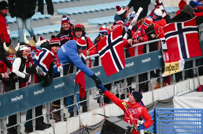 Work comes second in Norway during the Winter Olympics