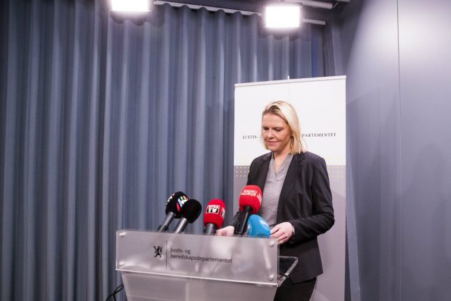 Sylvi Listhaug resigns as Norway's justice minister