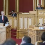 Opposition leader says PM 'does not understand' debate as fallout from Norway political crisis continues