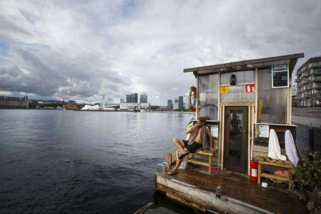 Oslo to get second floating sauna