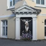 Norway street artist stokes debate with 'crucifixion' Listhaug painting