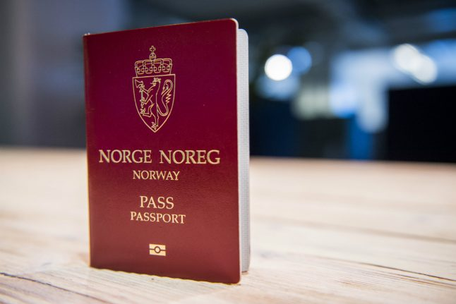 Norway has fourth 'most powerful' passport in the world