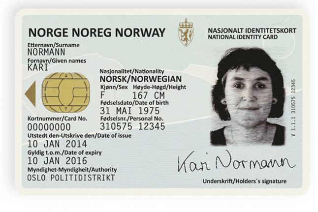 Norway to spend 700 million kroner on new national ID cards