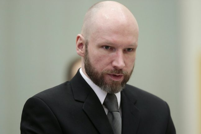 Rights court dismisses Breivik's complaint about jail conditions