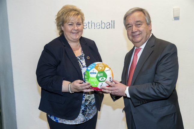 UN General Secretary praises Norway for peacemaking role