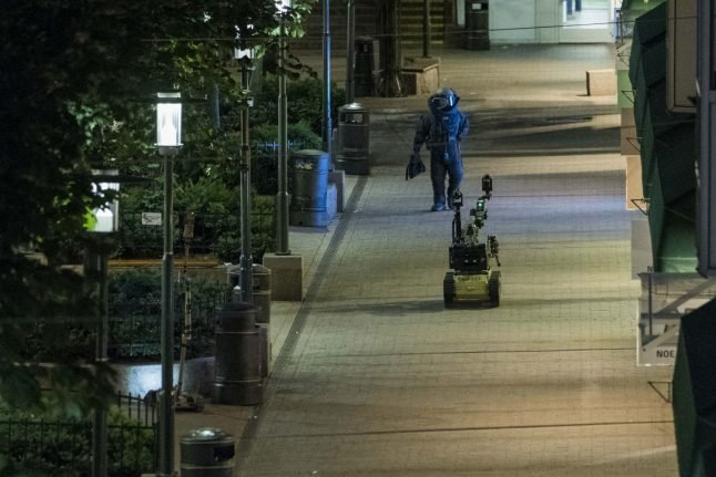 Suspicious package in Oslo turns out to be harmless