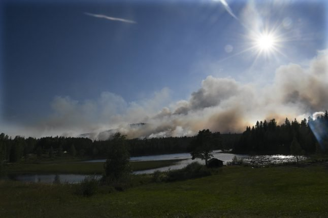 Norway sends assistance as Sweden struggles to contain ferocious wildfires