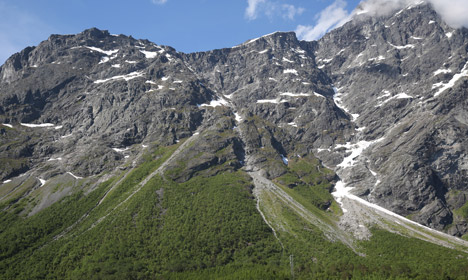 Farms evacuated under Norway's 'moving mountain'