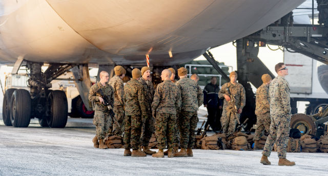 US doubles number of marines stationed in Norway