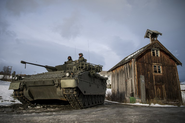 Nato's Cold War games in icy Norway: 'We have been taking driving lessons on snow'