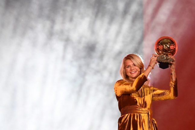 Hegerberg gets Ballon d'Or, but Norway star still set to snub World Cup
