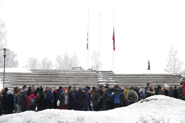 Two minutes' silence in Norway for Scandinavian hikers murdered in Morocco