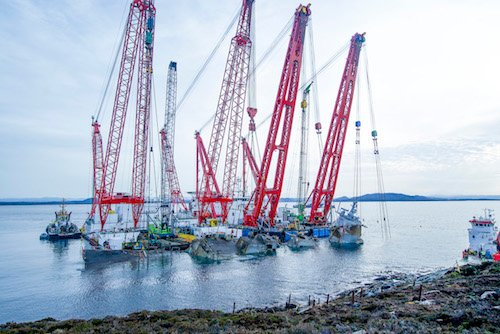 Norway launches operation to salvage sunken frigate