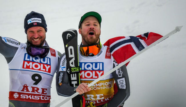Norway ski legend bags silver in last championship race