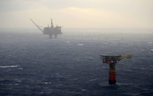 Oil platform off Norway evacuated after ship collision