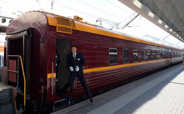 Russia opens first Arctic train service to Norway
