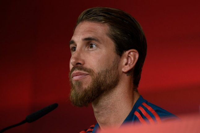 Ramos sets Spain caps record but Norwegians spoil party