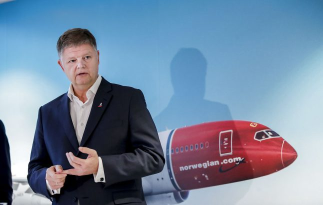 Troubled airline Norwegian gets new captain for New Year