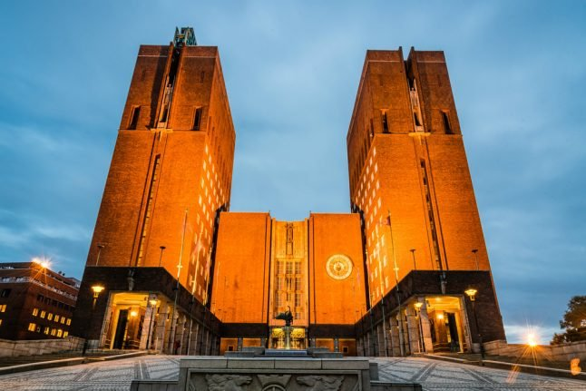 Here's how you can choose Oslo City Hall's Christmas chimes