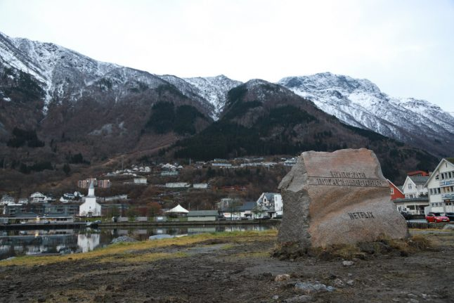 Why a rune-bearing rock appeared overnight in Norwegian town