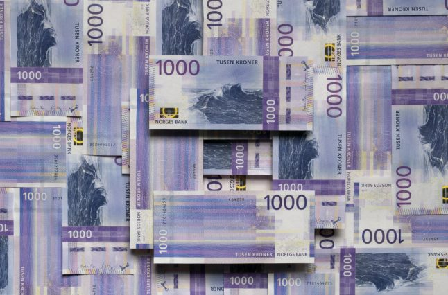 Here is Norway's new 1,000-krone note