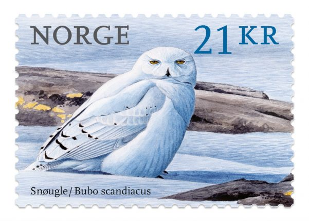This Norwegian stamp is 'the most beautiful in the world'