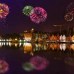 What do Norwegians do on New Year's Eve?