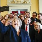 Here is Norway's new minority government
