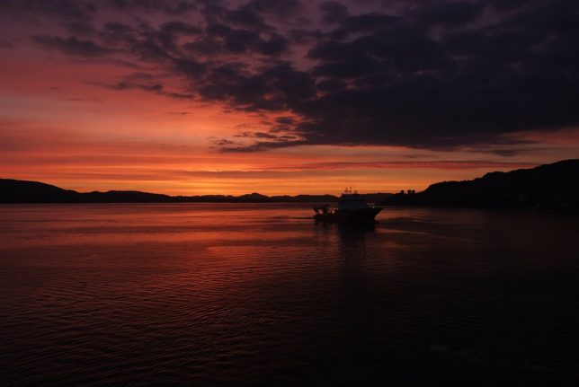 Norway's recent sunsets have been spectacular, but is there a dark side?