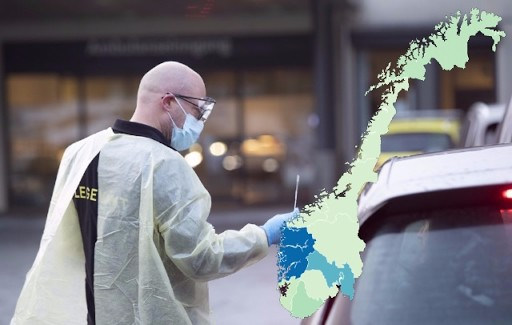 MAP: The latest data on coronavirus infections in Norway
