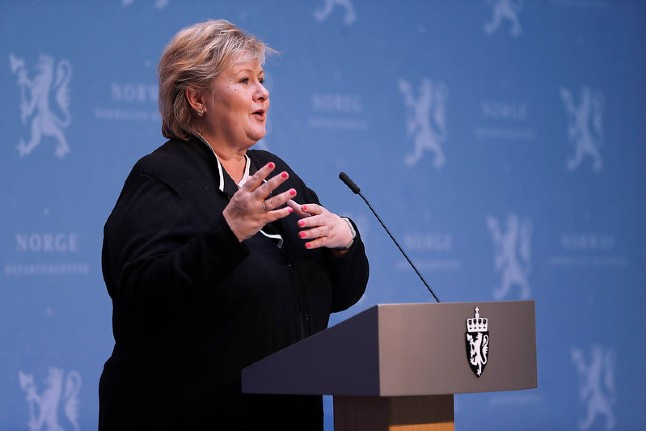 Norway PM warns lockdown relaxation could be reversed