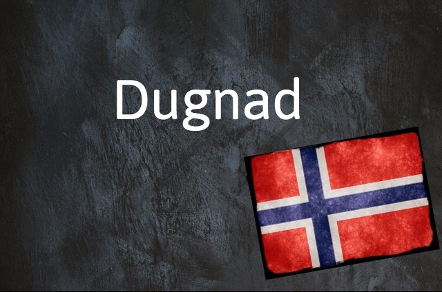 Norwegian expression of the day: Dugnad