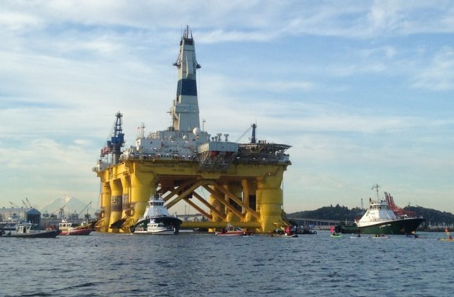 Norwegian start-up aims to buy oil rig for offshore fish farm