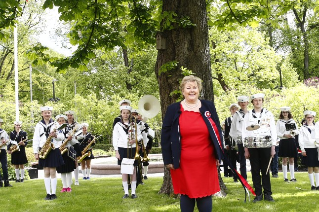 IN PICS: Norway's unusually quiet Constitution Day celebration