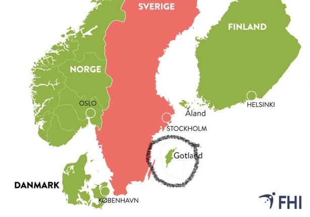 Norway opens up to Swedish tourists… so long as they're from Gotland
