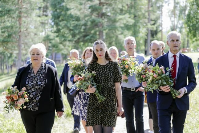 'Hate takes lives': Norway marks ninth anniversary of July 22nd attacks with socially distanced memorial