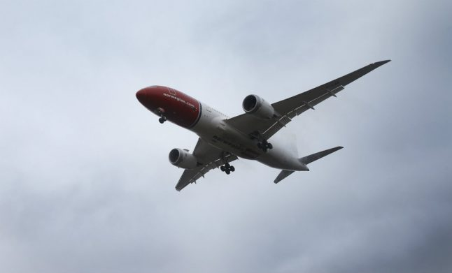These international flights are currently available from Norway
