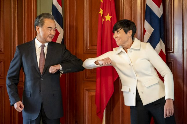 Norway told by China not to 'politicise' Nobel Peace Prize