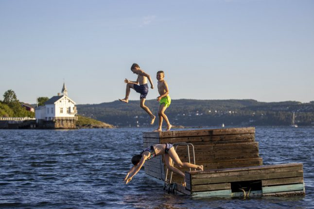 Norway temperatures to hit 30 degrees this week