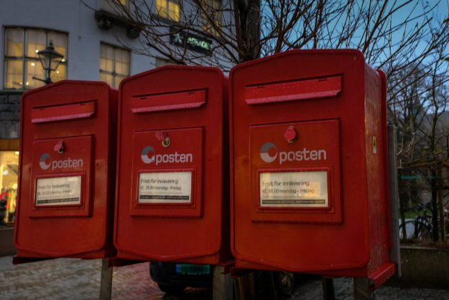 All but six of Norway's remaining post offices to close