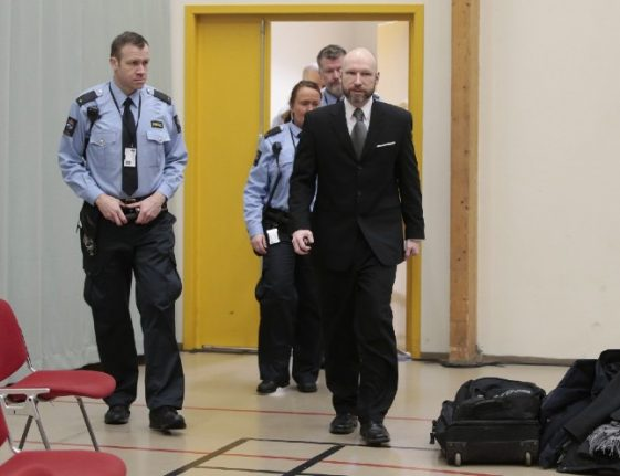 Norwegian terrorist Anders Breivik asks for parole