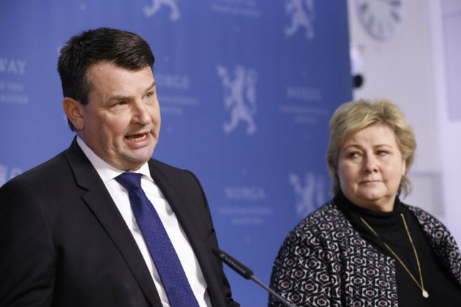 Norway ex-minister's partner on trial for fake threats