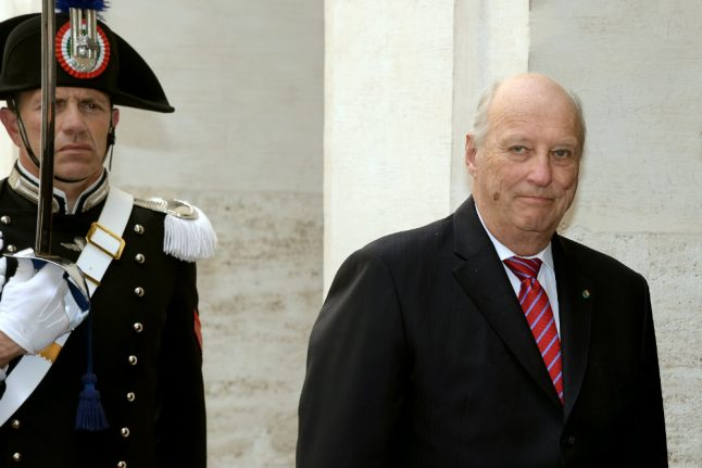 Norway's King Harald discharged from hospital after short stay