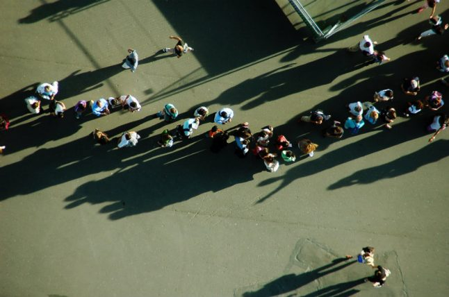 How coronavirus could change queuing culture in Norway