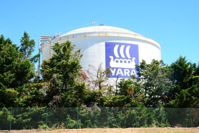 Norwegian fertiliser maker Yara steps into green energy