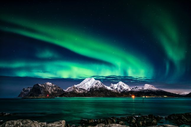 Why the northern lights might be visible in more of Norway than usual