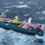 Norwegian authorities tow stray cargo ship to safety